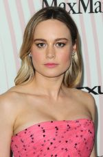 BRIE LARSON at Women in Film Crystal and Lucy Awards in Los Angeles 06/13/2018