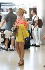 BRITNEY SPEARS Arrives at Airport in Miami 06/05/2018