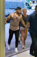 BRITNEY SPEARS at Miami International Airport 06/10/2018