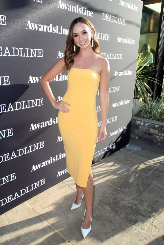 BRITT BARON at Deadline Emmy Season Kickoff in Los Angeles 06/04/2018