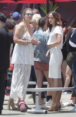 BRITT BARON at Glow Promo Event at Muscle Beach in Venice 06/29/2018