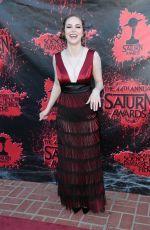 BRITTANY CURRAN at 2018 Saturn Awards in Burbank 06/27/2018
