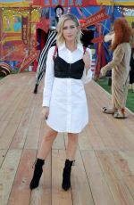 BRITTANY SNOW at Moschino Fashion Show in Los Angeles 06/08/2018