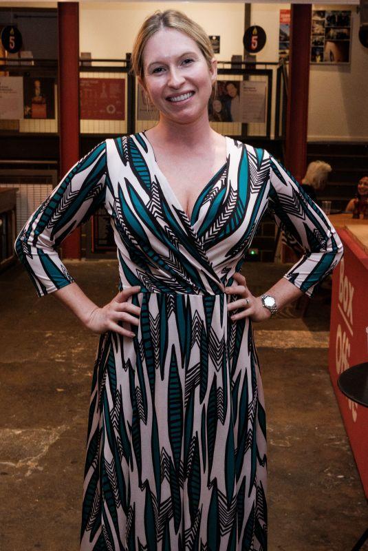 BROOKE KINSELLA at Monogamy Play Press Night in London 06/11/2018