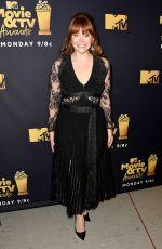 BRYCE DALLAS HOWARD at 2018 MTV Movie and TV Awards in Santa Monica 06/16/2018