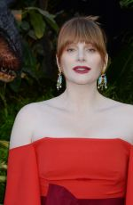 BRYCE DALLAS HOWARD at Jurassic World: Fallen Kingdom Premiere in Los Angeles 06/12/2018