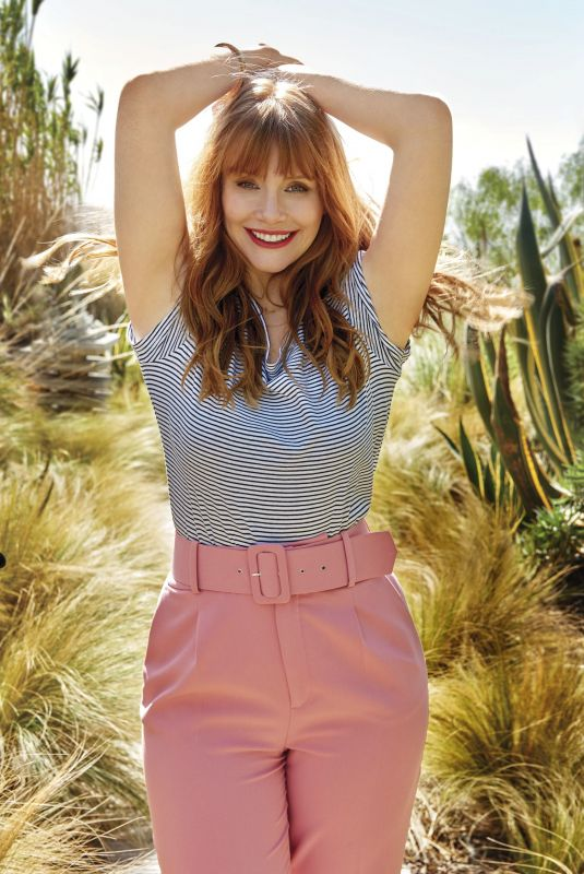 BRYCE DALLAS HOWARD for Good Housekeeping, July 2018