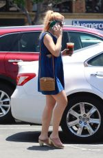 BUSY PHILIPPS Out and About in Los Angeles 06/25/2018
