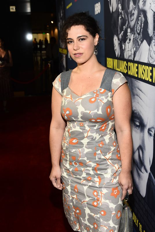 CALEY LEIGH CHASE at Robin Williams: Come Inside My Mind Documentary Premiere in Los Angeles 06/27/2018