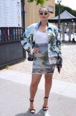 CAMELIA JORDANA at Balmain Fashion Show in Paris 06/24/2018