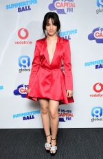 CAMILA CABELLO at Capital Radio Summertime Ball 2018 in London 06/09/2018