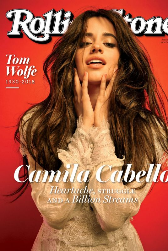 CAMILA CABELLO in Rolling Stone Magazine, June 2018 Issue