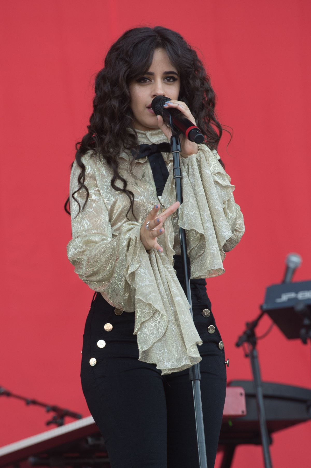 CAMILA CABELLO Performs at 2018 Isle of Wight Festival 06/24