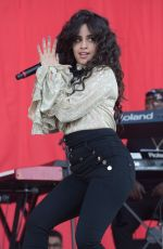 CAMILA CABELLO Performs at 2018 Isle of Wight Festival 06/24/2018
