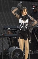 CAMILA CABELLO Performs at Taylor Swift's Reputation Tour at Etihad Stadium in Manchester 06/08/2018