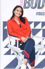 CAMILA MENDES at Shape Body Shop Pop-up at Hudson Loft in Los Angeles 06/23/2018