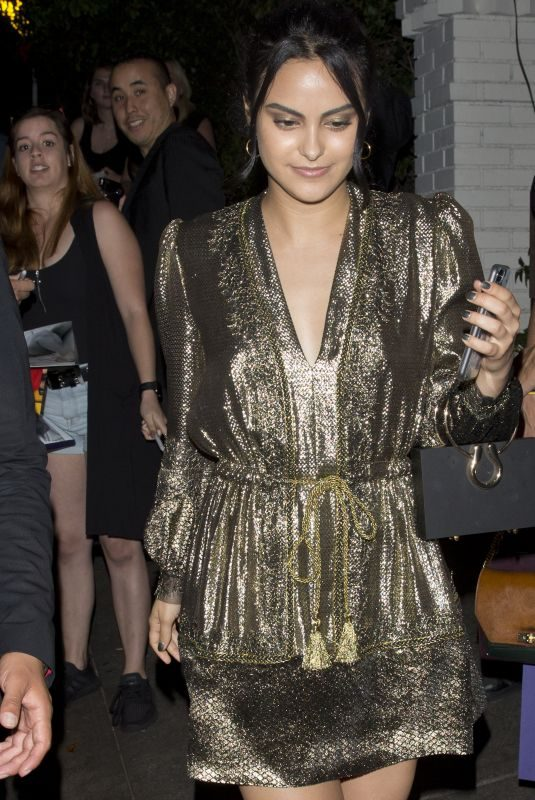 CAMILA MENDES Leaves Chateau Marmont in West Hollywood 06/15/2018