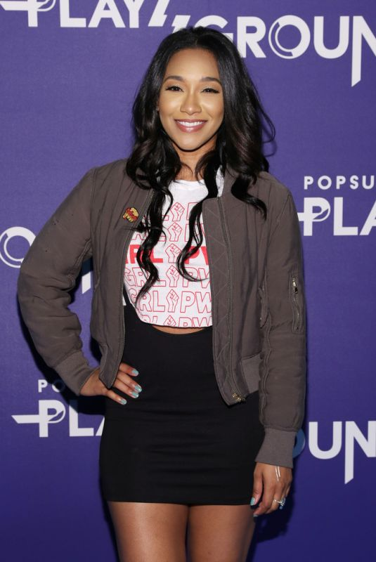 CANDICE PATTON at Popsugar Play/Ground in New York 06/10/2018