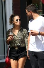 CAROLINE FLACK and Andrew Brady Out in London 06/11/2018