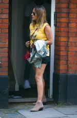 CAROLINE FLACK Leaves Her House in London 06/21/2018