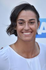 CAROLINE GARCIA at WTA Tennis on the Thames Evening Reception in London 06/28/2018