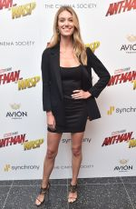 CAROLINE LOWE at Ant-man and the Wasp Premiere in New York 06/27/2018