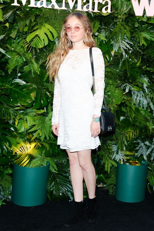 CARSON MEYER at Max Mara WIF Face of the Future in Los Angeles 06/12/2018