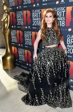 CASSIDY JANSON at Classic Brit Awards in London 06/13/2018