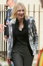 CATE BLANCHETT Arrives at Late Late Show with James Cordon in London 06/18/2018