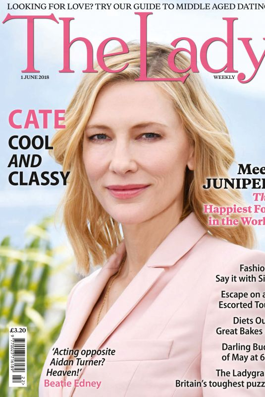 CATE BLANCHETT in The Lady Magazine, June 2018 Issue