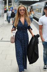 CATHERINE TYLDESLEY at Manchester Piccadilly Train Station 06/02/2018
