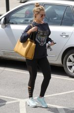 CATHERINE TYLDESLEY Out for Lunch in Cheshire 06/05/2018