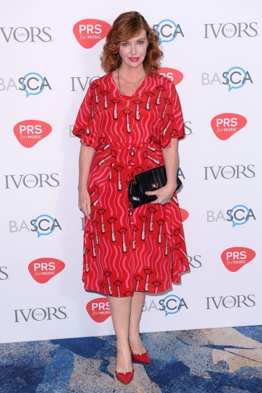 CATHY DENNIS at Ivor Novello Awards in London 05/31/2018