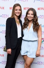 CELINE BUCKENS at Free Rein Show Season 2 Preview in London 06/16/2018