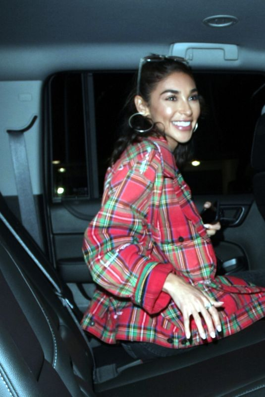 CHANTEL JEFFRIES Leaves Delilah in West Hollywood 06/18/2018