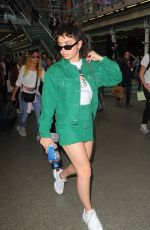 CHARLI XCX at Kings Cross St Pancras Railway Station in London 06/21/2018