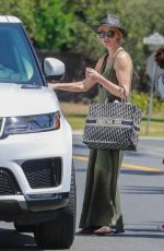 CHARLIZE THERON at a Gas Station in Los Angeles 06/09/2018