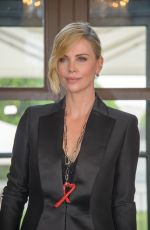 CHARLIZE THERON at Crystal of Hope 2018 Outreach Project in Vienna 05/31/2018