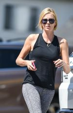CHARLIZE THERON Leaves Dance Class in Los Angeles 06/18/2018