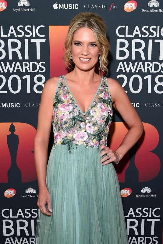 CHARLOTTE HAWKINS at Classic Brit Awards in London 06/13/2018