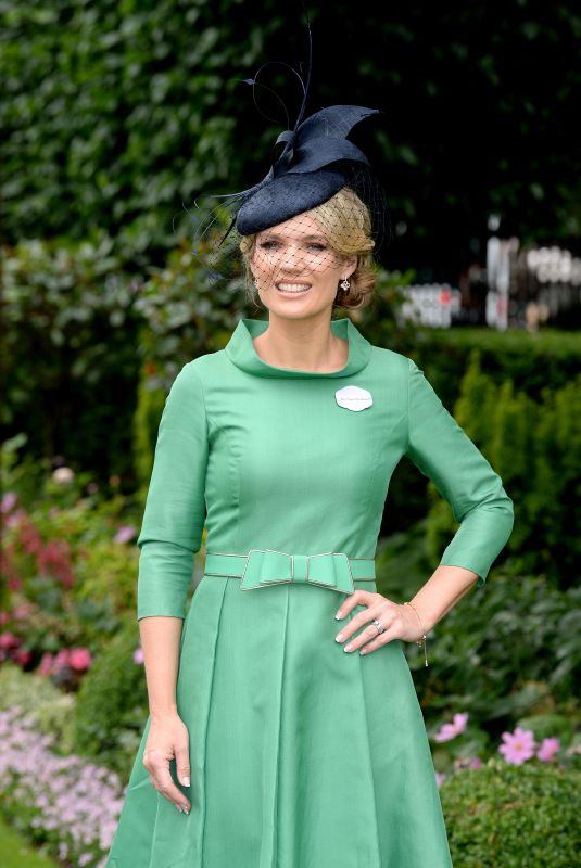 CHARLOTTE HAWKINS at Royal Ascot 2018 in Ascot 06/19/2018
