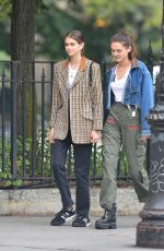 CHARLOTTE LAWRENCE and KAIA GERBER Out in New York 06/13/2018