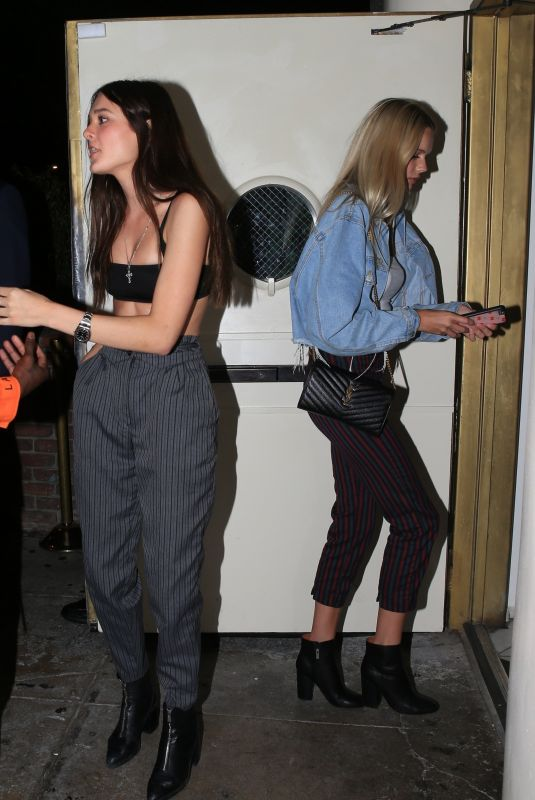 CHARLOTTE LAWRENCE at Delilah in West Hollywood 06/09/2018