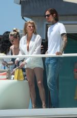 CHARLOTTE MCKINNEY at a Malibu Beach House Party in Los Angeles 06/03/2018