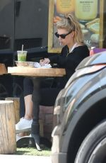 CHARLOTTE MCKINNEY at Kreation Organic Juicery in Beverly Hills 06/07/2018
