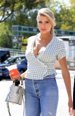 CHARLOTTE MCKINNEY in Jeans Out and About in Los Angeles 06/01/2018
