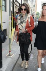 CHARLOTTE RILEY Arrives at Build Ldn in London 06/28/2018