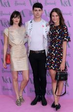 CHARLOTTE WIGGINS at Victoria and Albert Museum Summer Party in London 06/20/2018