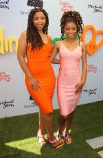 CHLOE and HALLE BAILEY at Children Mending Hearts Gala in Los Angeles 06/10/2018