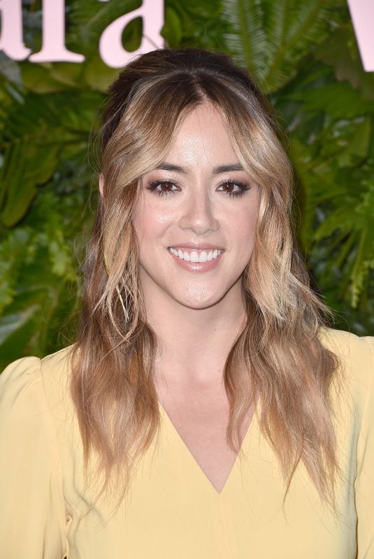 CHLOE BENNET at Max Mara WIF Face of the Future in Los Angeles 06/12/2018